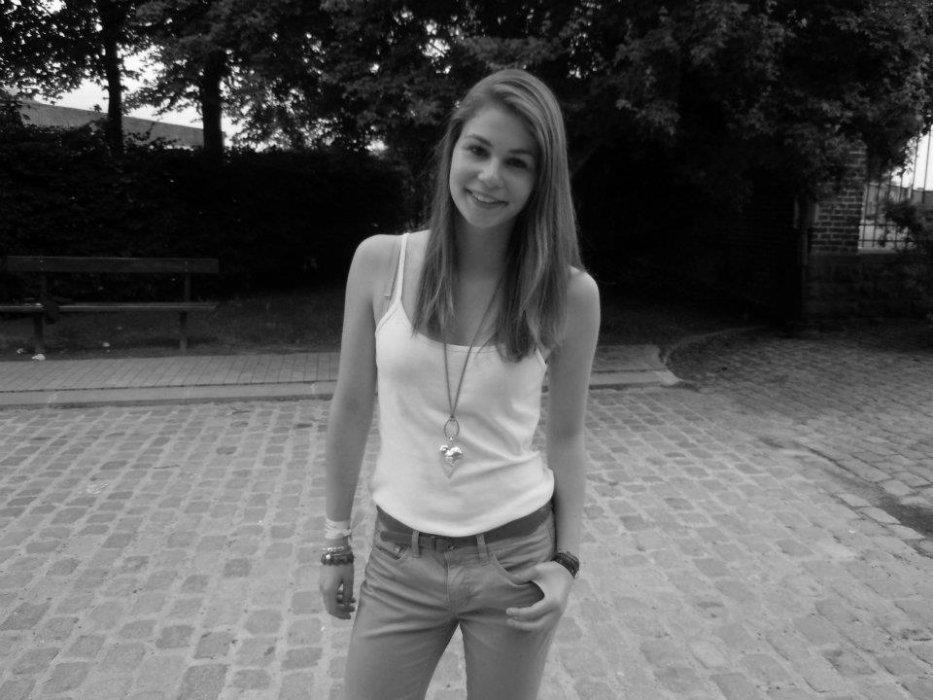 The stupid girl.