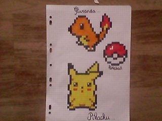 Articles De Les Pixel Art Taggés Pikachu Blog De Les