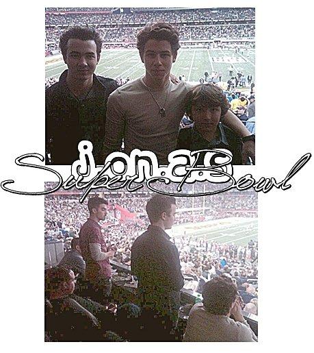 06.02.2011 : Un Mariage pour Joe & Ashley ? + Les Jonas au Super Bowl