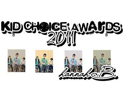 11.02.2011 : Les Jonas nominés aux Kids Choice Awards 2011