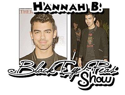 11.02.2011 : Joe au Show des Black Eyed Peas
