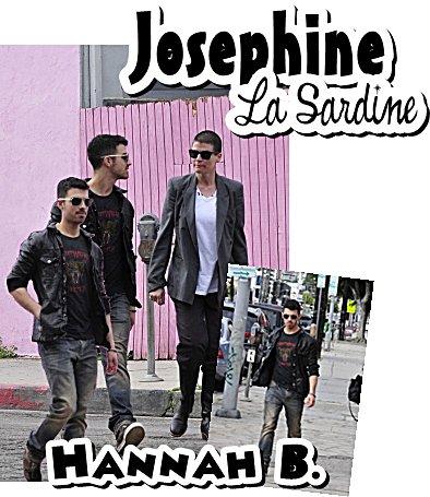 18.02.2011 : Joe s'balade à Los Angeles et le soir même dans West Hollywood, with friends.