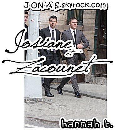 17.02.2011 : Joe & Zac se promenant le jour du défilé + Nickouette la Mouffette sur MTV, The Sevens