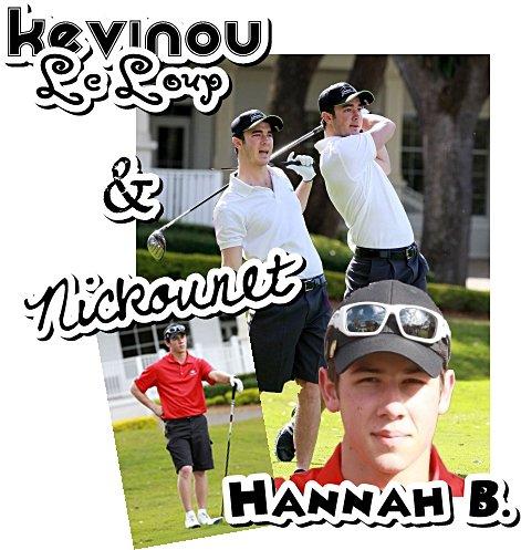 02.03.2011 : Nick & Kevin jouent un tournoi de Golf pour la J. Taylor Fondation + Joe beau gosse à la Vanity Fair