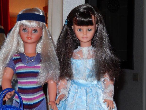 Nathie & Nathie :-) entre les deux mon coeur ....