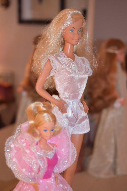 """Pour répondre sur la taille de la """"grande barbie"""" !!"""