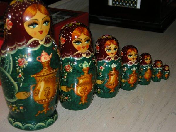 Matriochka - Poupées Russes