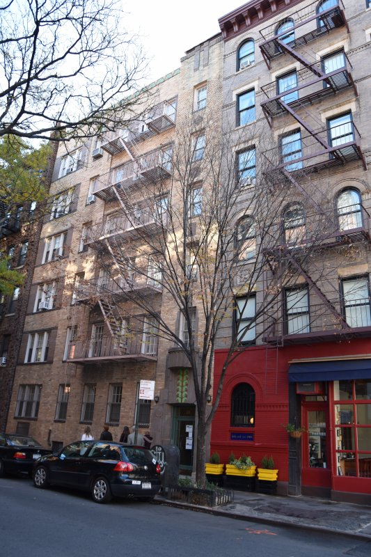 Ce soir un petit tour dans Greenwich Village