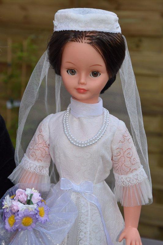Cathie tenue Mariée 1975