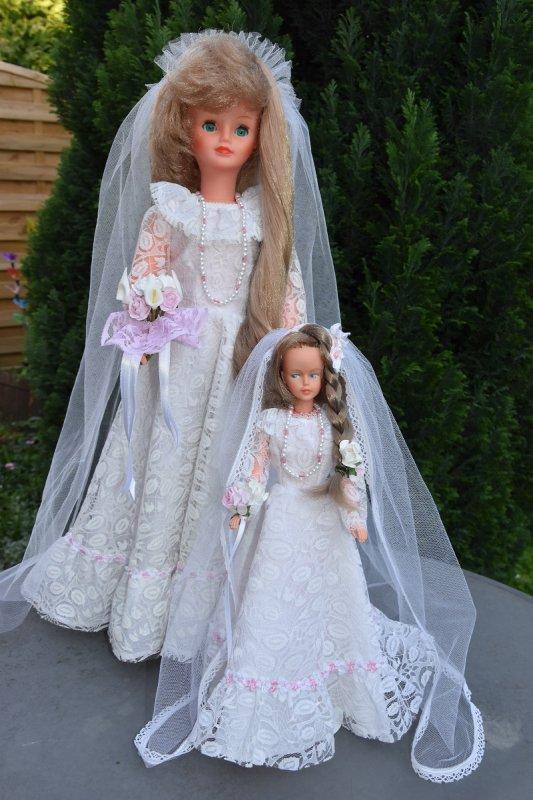Cathie - Tressy duo mariées 1978
