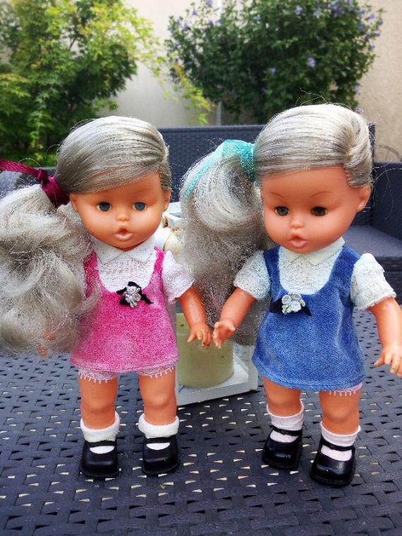 Gege les jumelles on va dire une Skitou et une Mini chou ou une Poupy  ;-)