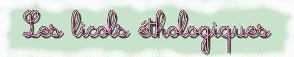 Les Licols étho'