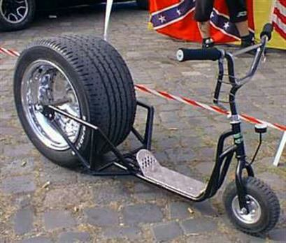 "Une Trotinette ""Dragster"" ^^"