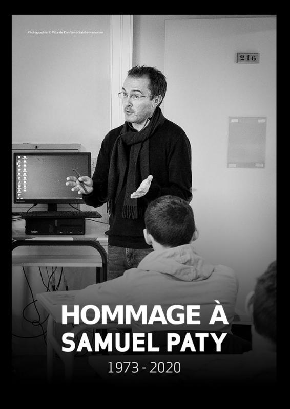 Hommage à Samuel Paty  (1973 -2020)