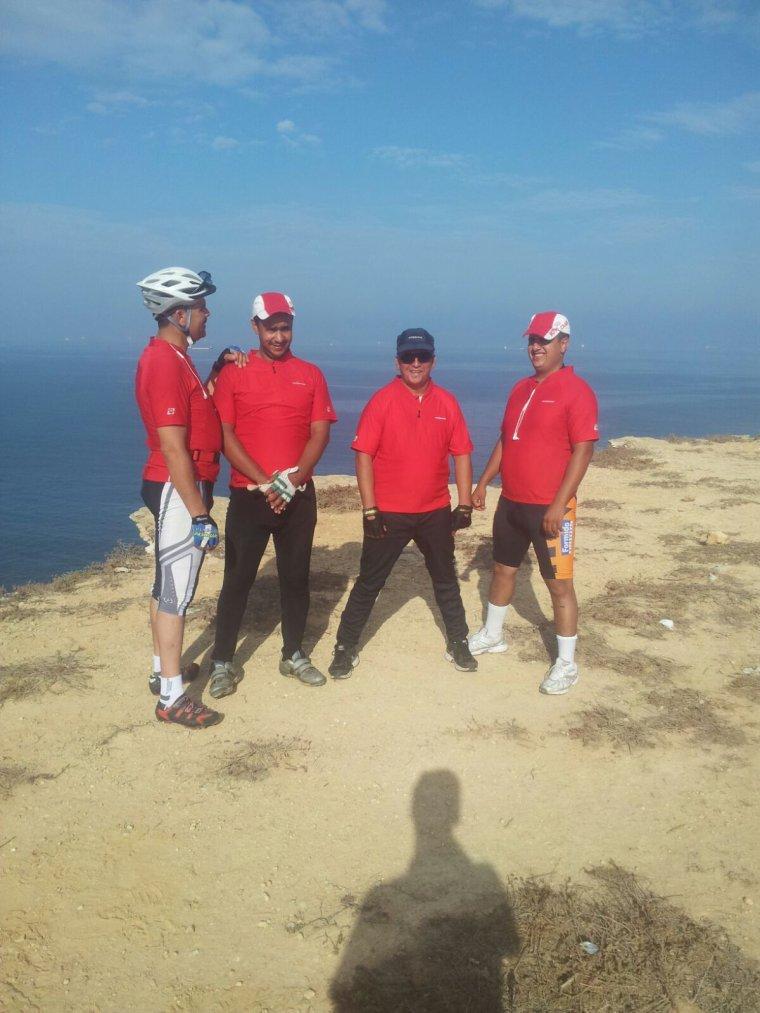 ASCM,Cyclotourisme N°1 au Maroc.La sortie : Casablanca,El Jadida,El Oualidia ,Safi,Essaouira ...390Km /du 27 au 30 Septembre 2015. :)