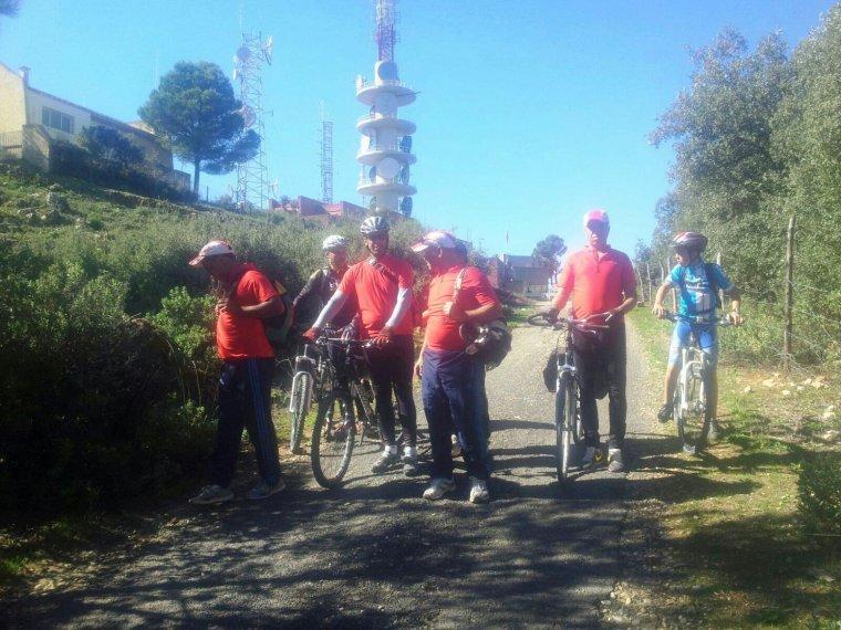 ASCM,Cyclotourisme N°1 au Maroc. la sortie : Moulay Driss Zerhoun et la région..80km(7 & 8 novembre 2015) ^^