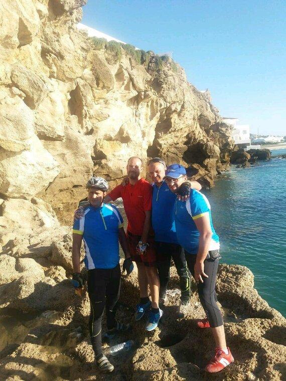 Cyclisme Maroc,ASCM. La sortie Assila,Larache et Tanger .Octobre 2017