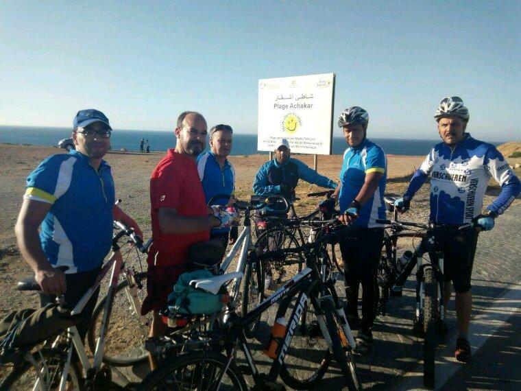 Ascm ,cyclotourisme. La sortie Assila,Larache et Tanger ,Octobre 2017