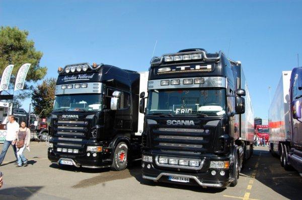 24h du mans camion 2010 transports nicolas villard et sth