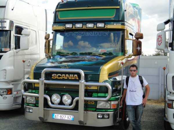 24h du mans camion 2010 SCANIA