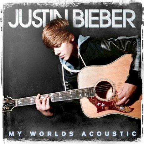 Justin Bieber : la pochette de My World's Acoustic