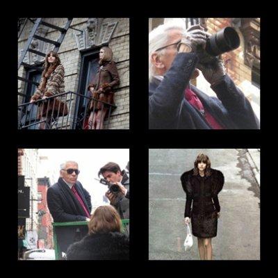 Abbey Lee et Freja Beha Erichsen pour la campagne publicitaire Chanel, Automne Hiver 2010-2011 <3<3