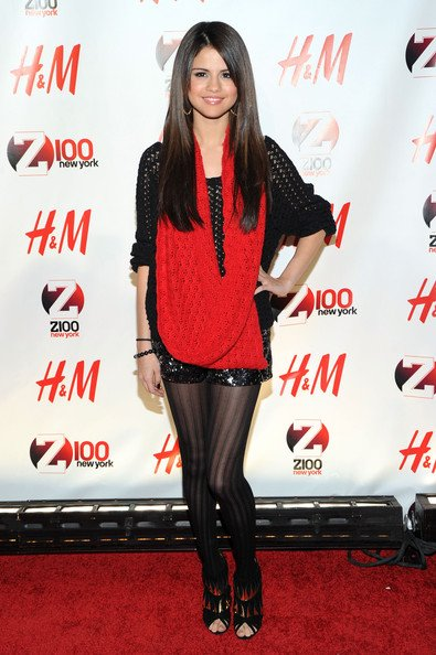Selena Gomez au Z100′s Jingle Ball 2010