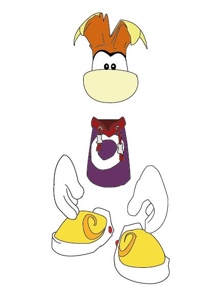 rayman / illustrator