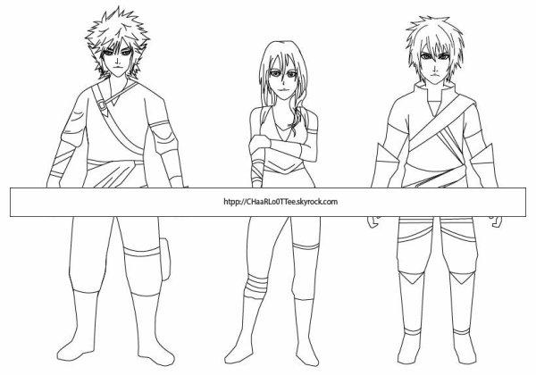 création personnages