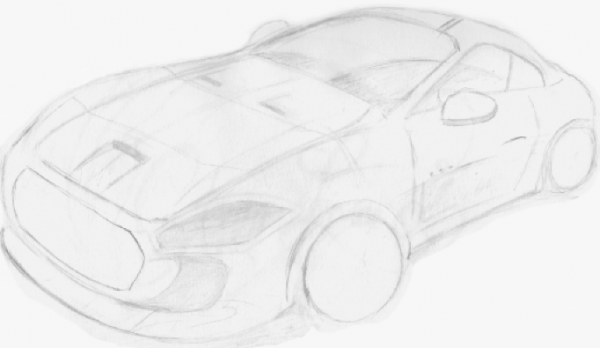 Croquis Maserati