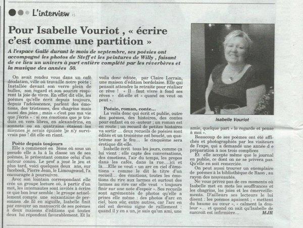 Isabelle Vouriot