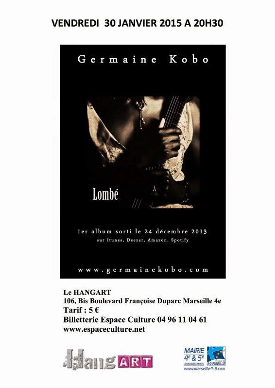 Germaine Kobo en concert.