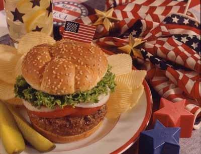 un bon repas americain