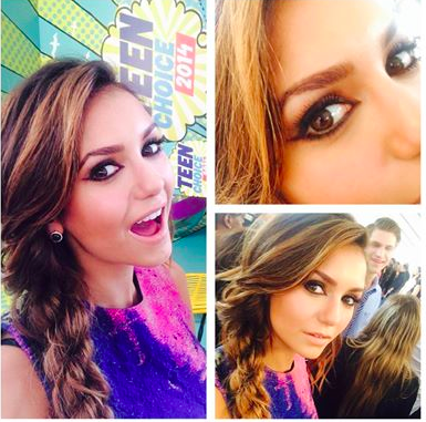 Nina, Ian et Paul étaient au Teen Choice Awards 2014
