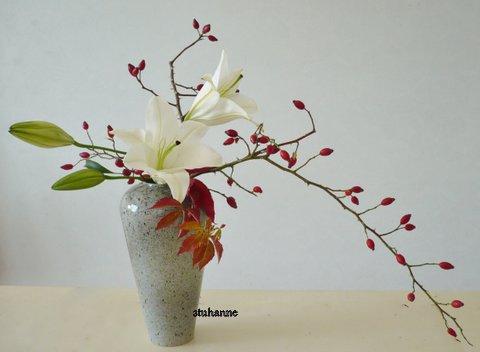 ikebana  style nageire