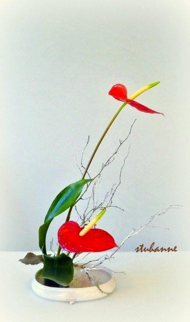 TROISIEME JOUR DE L'AVENT: ikébana