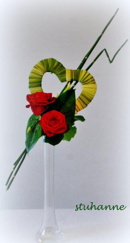 art floral: SAINT VALENTIN