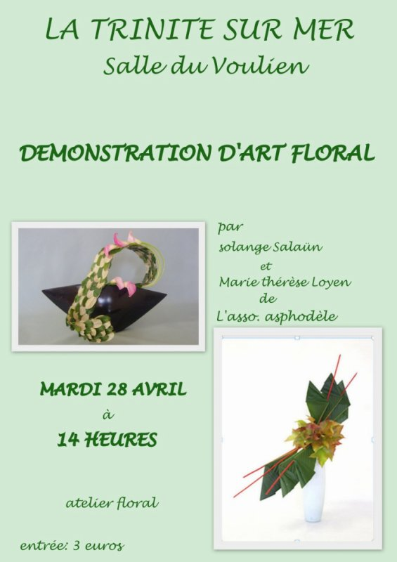 DEMONSTRATION ART FLORAL