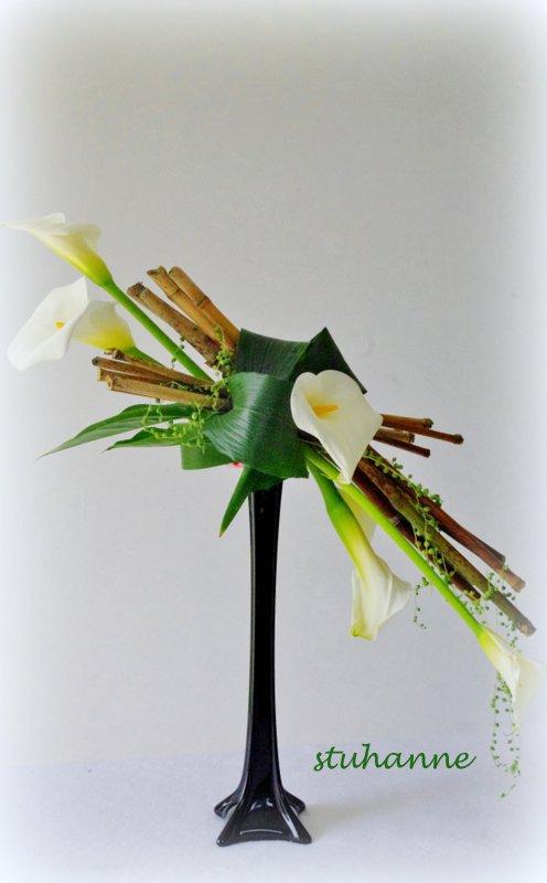 arums et bambous