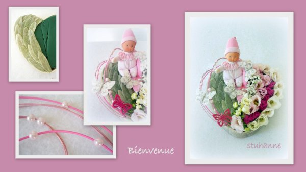 """Ma participation au concours du magazine """"Atelier Floral"""""""