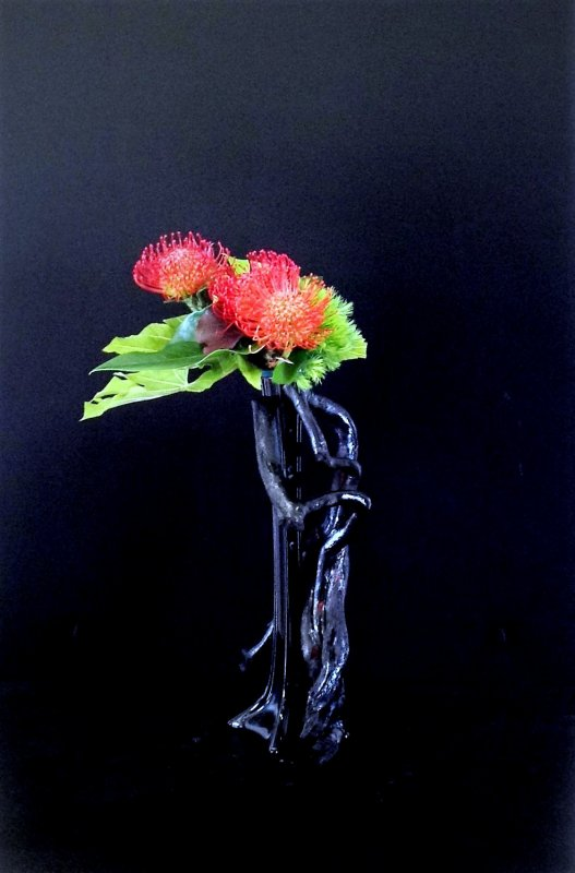 DEMONSTRATION D'ART FLORAL