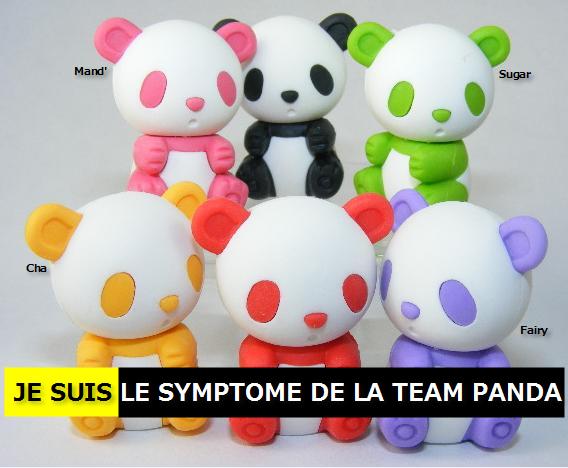 je sui le symptome de la team PANDA <3