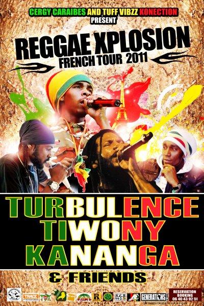 TOUR TURBULENCE 2011 à PARIS