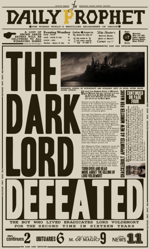 La Défaite de Voldemort