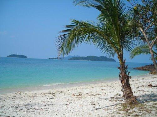 départ en vacances pour deux semaines dans un endroit paradisiaques