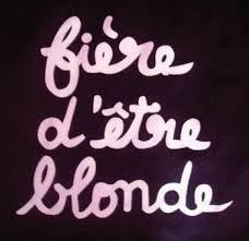 Tu es le symptôme : Blondie!