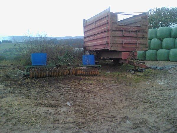 roulau + remorque maitre refaite maison 7 tonnes