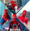 Les differentes tenues de Spider Man