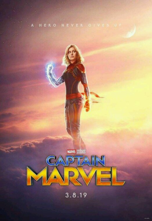 Captain Marvel sortira dn 2019