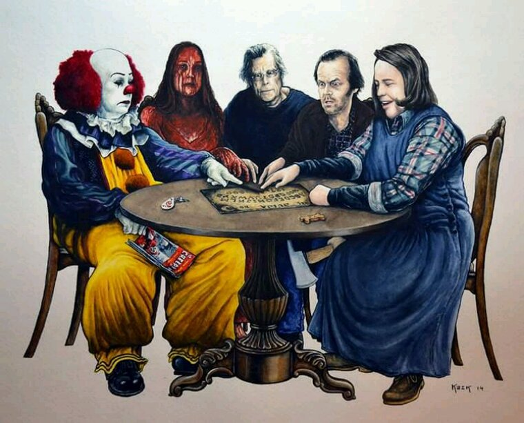 Stephen King et ses oeuvres....